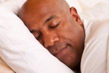 Sleeping man (iStock)