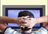 Man watching TV (iStock)
