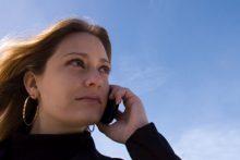 cellphone user (Shutterstock)