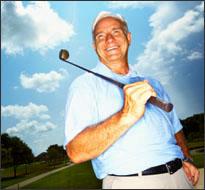 Rich golfer (iStock)