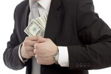 Unethical businessman (iStock)