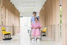 Caretaker at a nursing home