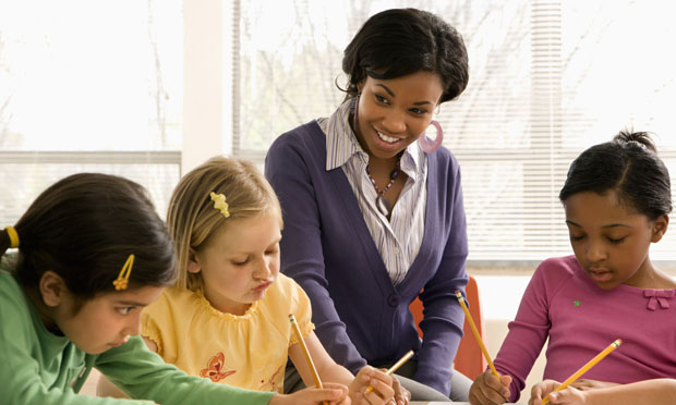 Teacher and students (iStock)