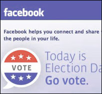 Facebook vote (screenshot)