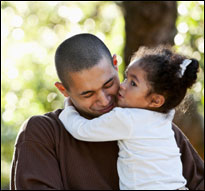Latino father and child (iStock)