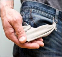 Empty pockets (iStock)