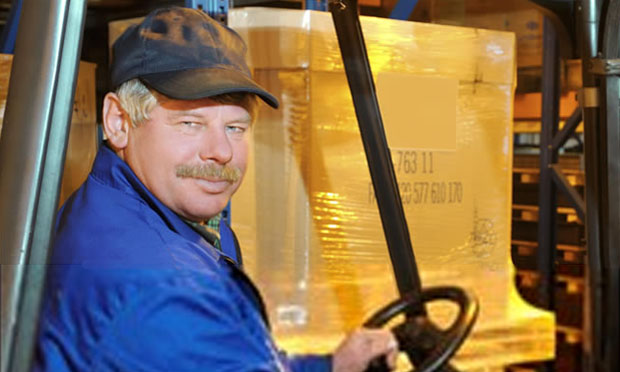 Forklift driver (iStock)
