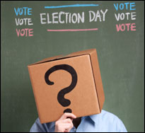 Undecided voter (iStock)