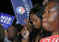 Obama supporters, 2008 (DNC)