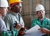 Three industrial workers (iStock)