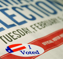 I voted sticker (iStock)