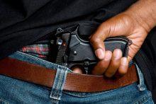 Man with gun (iStock)