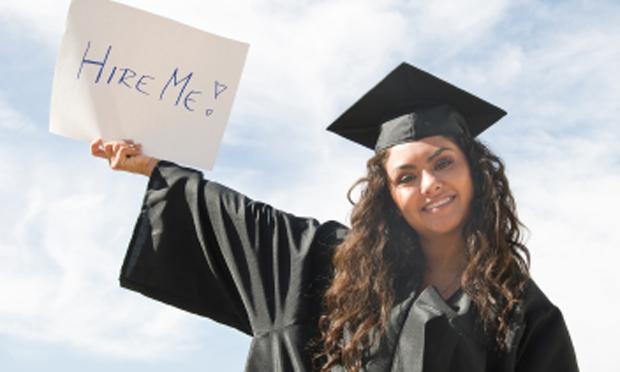 Job-seeking college graduate (iStock)