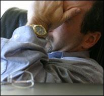 Workplace stress (iStock)