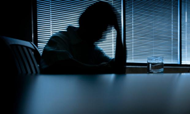 Depressed adult (iStock)