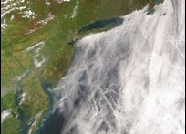North Atlantic coast (NASA)