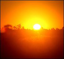 Rising sun (NOAA)