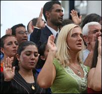 New U.S. citizens (Bush archives)
