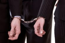 Two men being arrested (iStock)