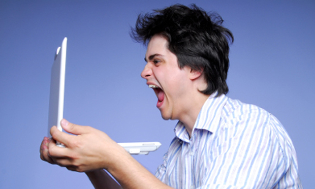 Angry Internet commenter (iStock)