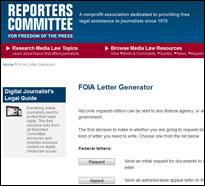 ReportersCommFOIA