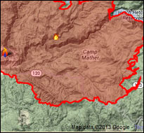 Yosemite Rim Fire (National Park Service)