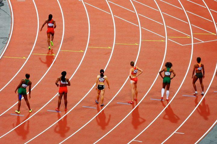 Sprint race olympics