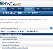 Data.gov (screenshot)