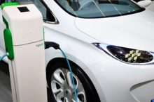 electric vehicle recharging (iStock)