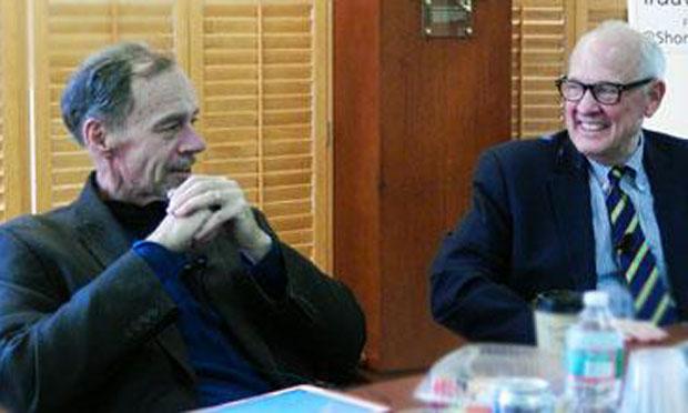 David Carr and Alex S. Jones (Shorenstein Center)