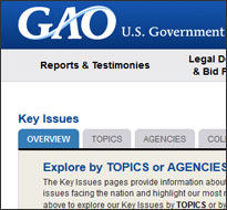 GAO website