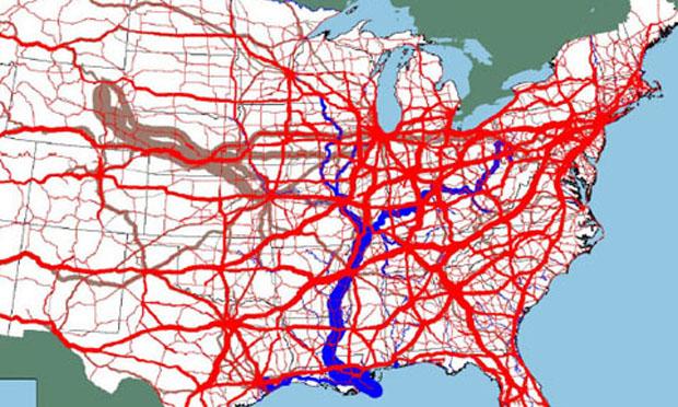 U S Freight Tonnage U S Dot