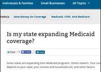 ACA Medicare section (Healthcare.gov)