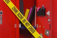 School crime scene (iStock)