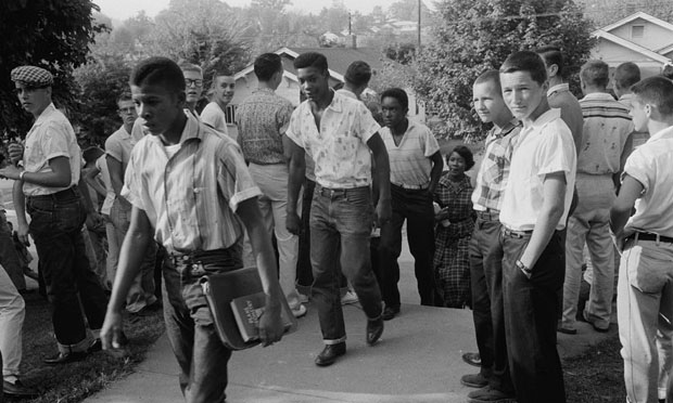 Tennessee school, 1956 (Library of Congress)