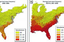 Future East Coast heat waves (nih.gov)