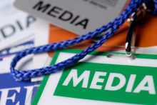Press pass (iStock)