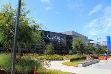Google's office building