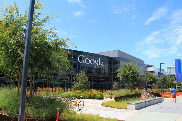 Google's office building