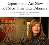 Domestic abuse by police (NY Times, 2013)