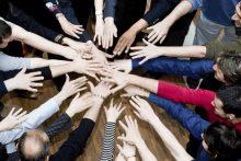 Hands together (iStock)