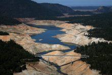 Lake Oroville, California, 2014 (water.ca.gov)