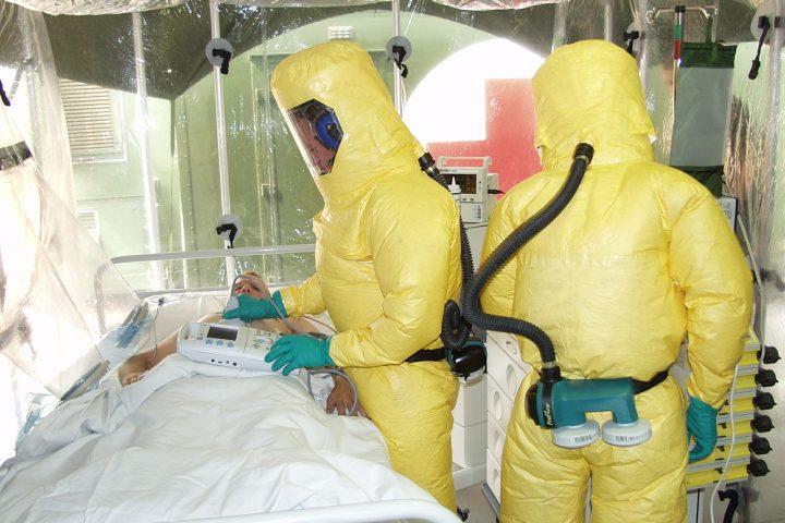 Ebola isolation room