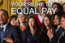 Equal pay for women (whitehouse.gov)