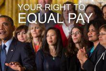 Equal pay for women (whitehouse.gov)