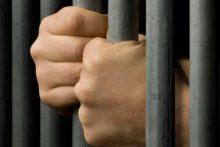 Man behind bars (iStock)