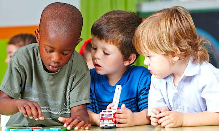 Three kindergarteners (census.gov)