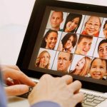 man with online friends (iStock)