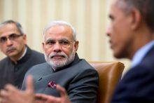 Indian prime minister Modi and President Obama, 2014 (whitehouse.gov)