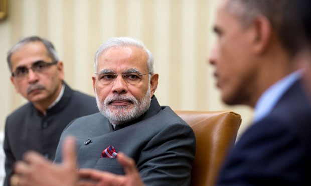 Indian prime minister Modi and President Obama, 2014 (whitehouse.gov)